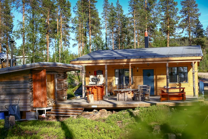 Cabin with Sauna