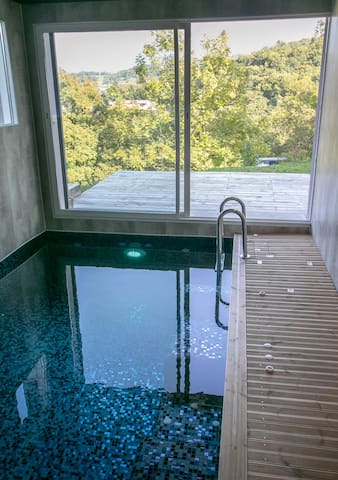 Gîte & Spa Kyoalpes, Lgt 50m2 piscine privative