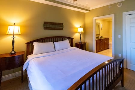 MASTER BEDROOM ~ KING BED ~ PRIVATE BALCONY