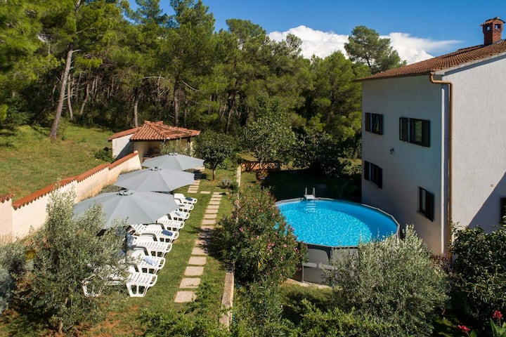 House Max near Poreč for 8 people