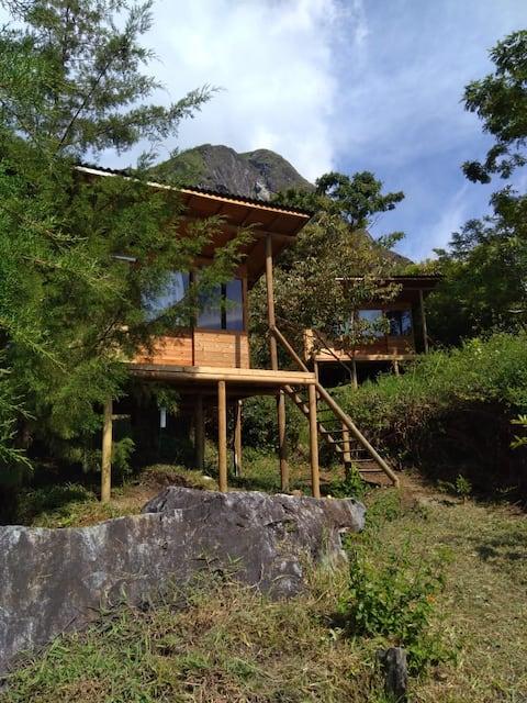 Glamping La Peña - Abejorral, cabaña Abibe