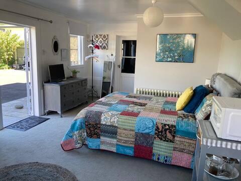 Lägenhet med körsbärsblommor