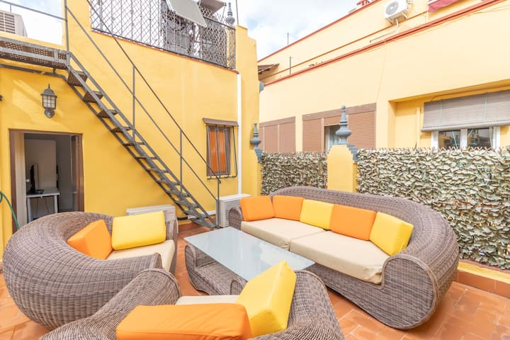 House - Rooftop&Triana -StayInSeville 1614ft² 6Be
