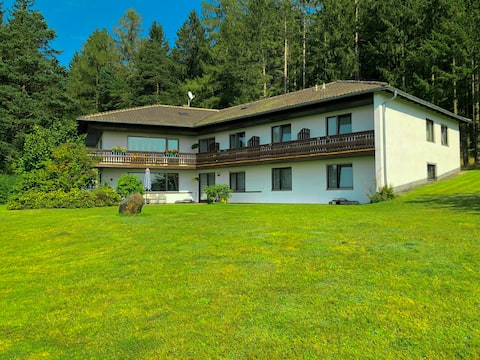 Pension Berghof - Triple bed room with balcony