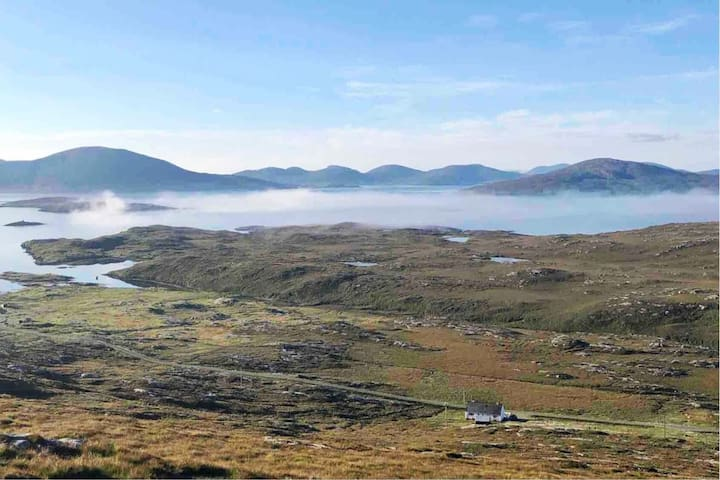 Spacious and secluded Hebridean home from home