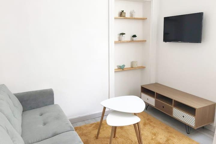Studio cosy, hyper centre ville