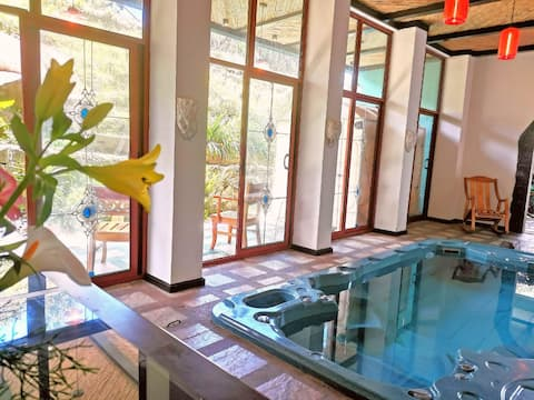 Vacational SPA room+bathtub.Spa&mealServices