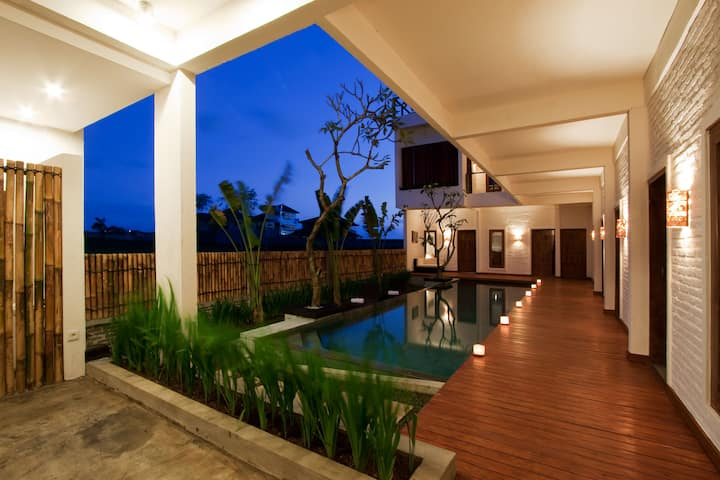 Echoland Bed & Breakfast, Canggu, Standard AC Room