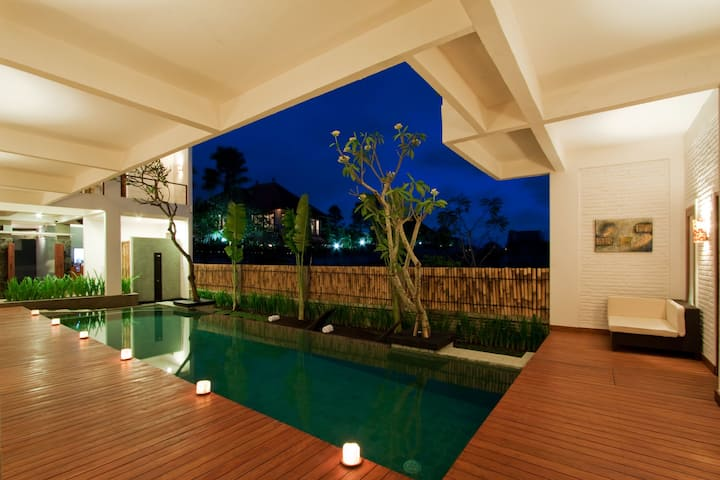 Echoland Bed & Breakfast, Canggu, Boutique AC Room