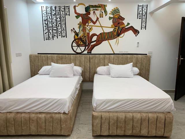 King Ramses bedroom