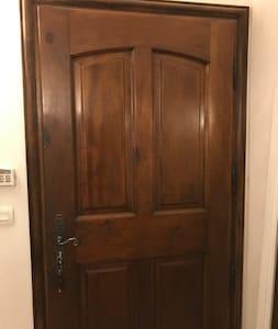 Largeur de la porte 95 cm