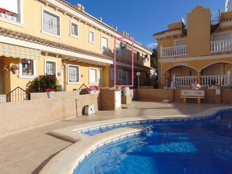 Algorfa Townhouse with Pool