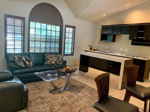 Apartment with a great living room !!!