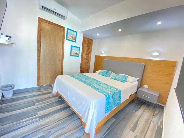 Agua Dulce - Nice Double Room with all you need :)