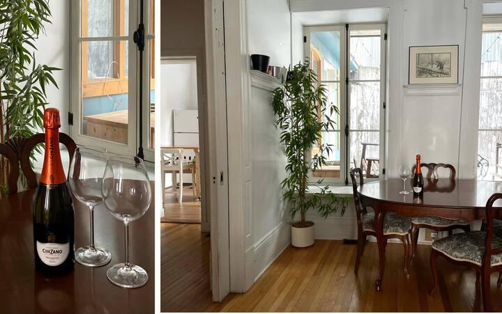Grand appartement au coeur de Québec