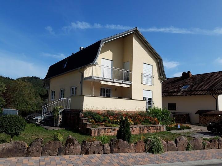 Schöne Ferienwohnung in Fischbach / Pfälzer Wald