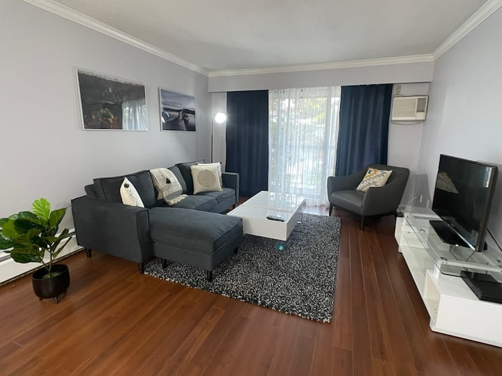 Modern Family Friendly 2 Bedroom Across VGH
