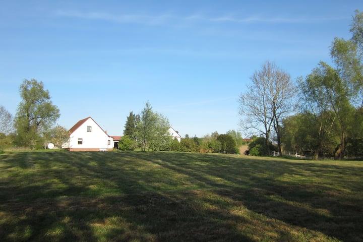 Ruhiges und charmantes Ferienhaus nahe Putbus