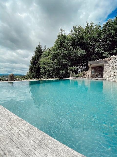Casa do Cebro - Maison privée avec piscine et jacuzzi