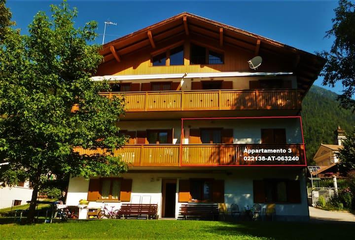Ap.3 vicino a Campiglio e alle Dolomiti