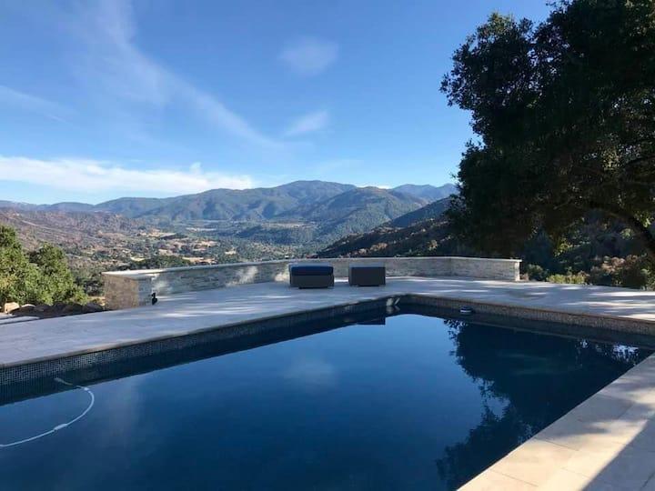 Gorgeous Carmel Valley Vineyard Hideaway with Pool