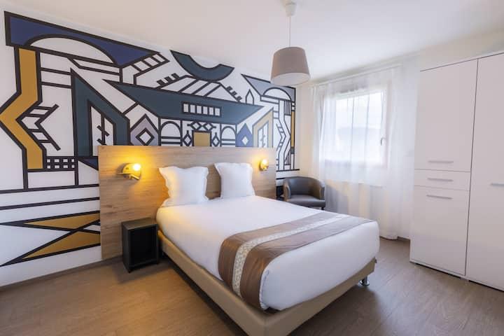 Appartement T2 proche aéroport de Bâle-Mulhouse