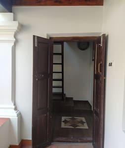 guest entrance doorway