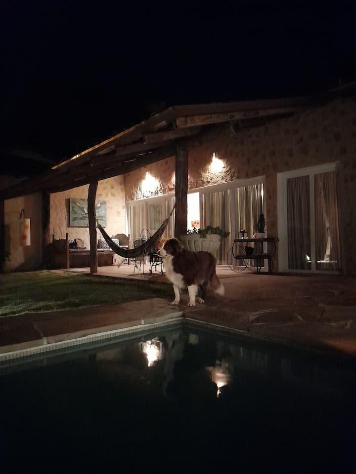 Ilhabela, nós dois e nossos cachorros !!!