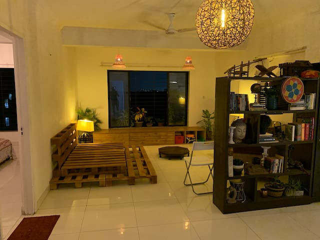 Paradise in Mumbai with Lake & Forest View