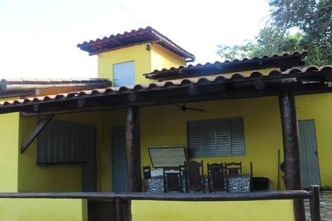 Rancho de Pesca Três Marias  Casa Amarela