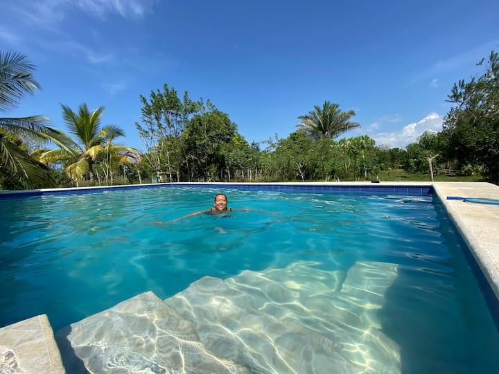 Casa finca moderna con piscina privada