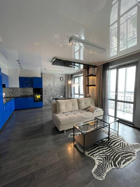 Стильная квартира (центр города)  в 30 м от метро