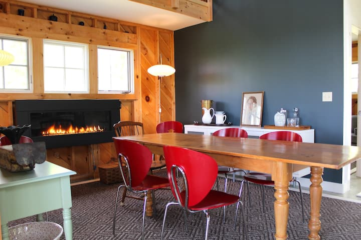 Rustic Chic Maine Cabin @Diagonair