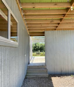 1/3 ways of entering  This photo is from the carport