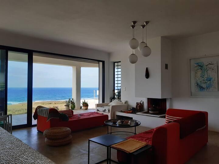 Villa face à la mer