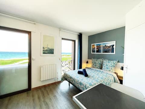Studio prado beaches - facing the sea
