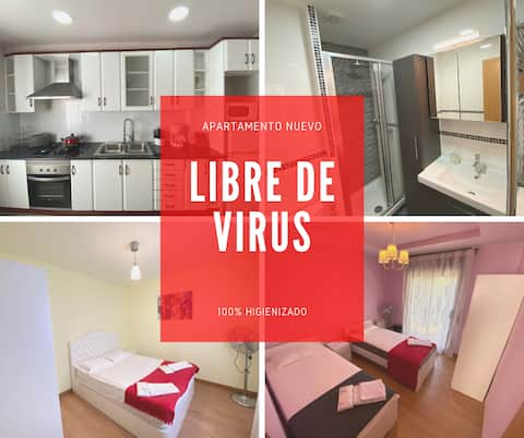 Luxury Apartment, 400m from the train station-BCN