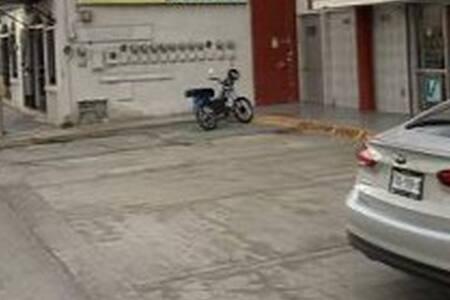 Donde está la moto