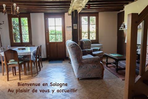 Chez Clotilde et Victor en Sologne des Landes