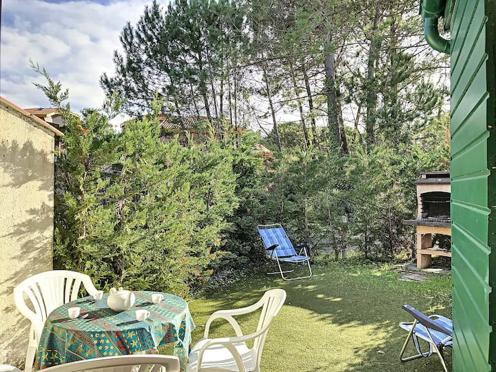 Moliets plage, apartment for 4 people, with pool