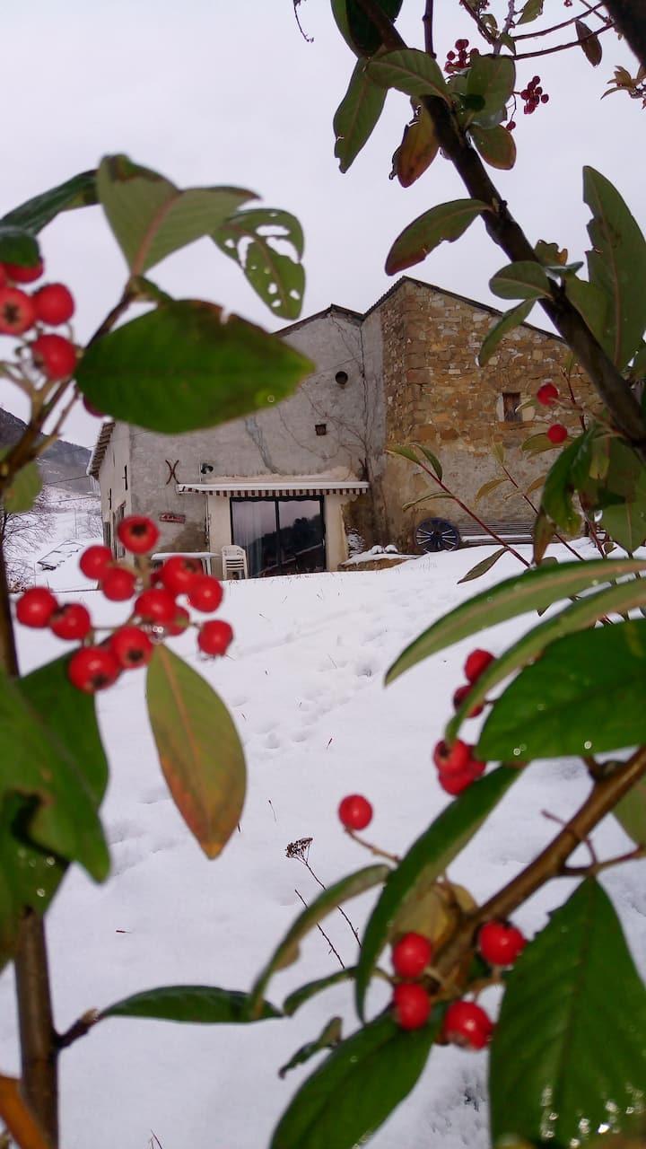 BOULC hameau des Avondons, le gîte de la Sandroune