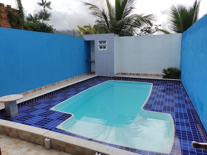 Home Beach Massaguaçu Casa com piscina  100MTpraia