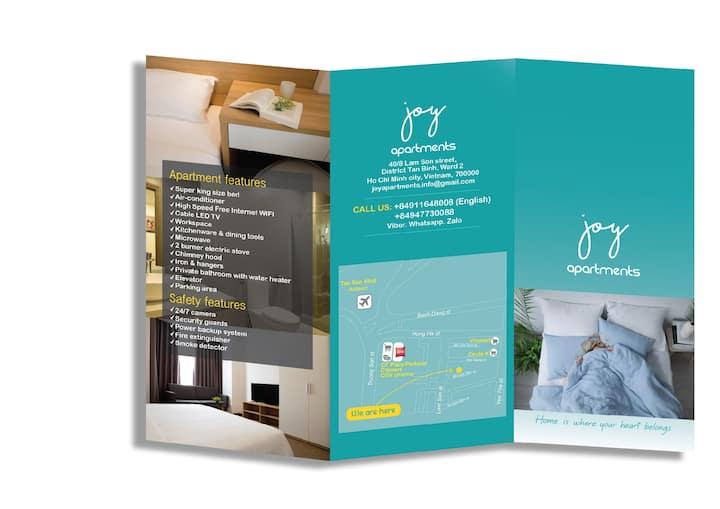 Studio 2 - Joy apartment - Airport - Tan Binh