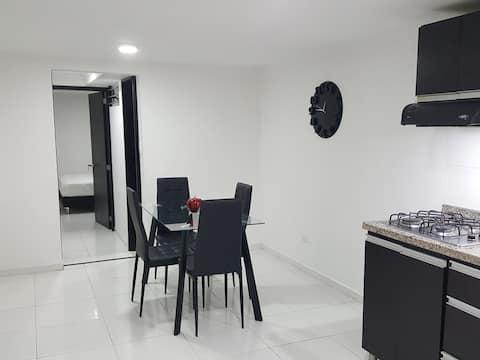 Confortable Apartamento 2 Alcobas en Manizales 1A