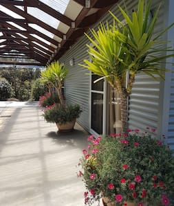 Outside lighting for all entrance ways and the drive way and carport and decks.