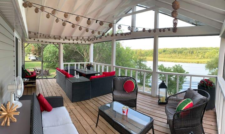 Rice Lake Family Cottage Retreat