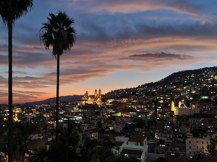 Departamento panorámico de Taxco!!!!