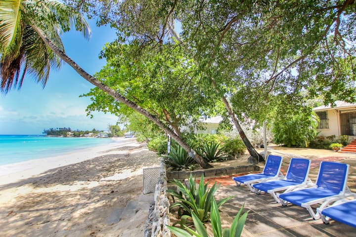 Beachfront Open Plan 3-bed House - Whitecaps