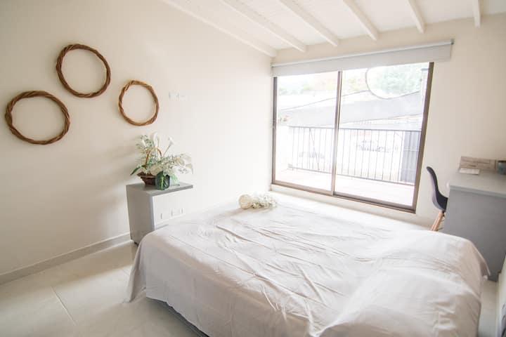 H4|Casa Jardín | Habitación Privada | Cerca a todo