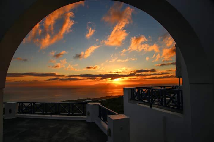 B&B-sunrise sea view- 45sm veranta-Pergeri#2
